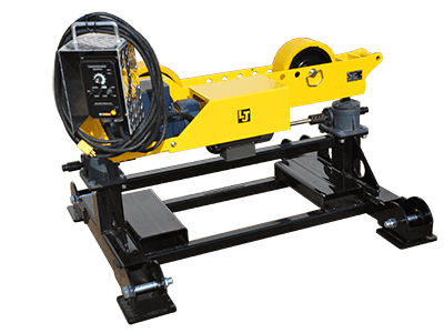 8-ton load capacity geared height adjust pipe stand rollers for sale