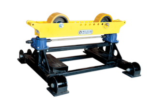 4-ton geared height adjust pipe roller stand