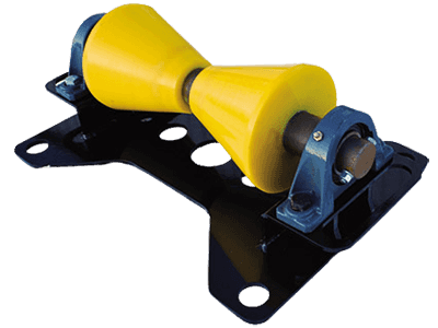 2 to 24 inch horizontal pipe rigging rollers with 1-ton capacity