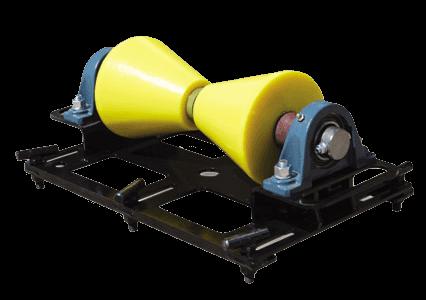1 ton horizontal pipe rigging rollers
