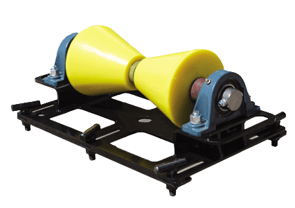 1 ton horizontal pipe rigging rollers