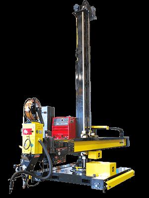 12 foot submerged arc column & boom welding manipulator