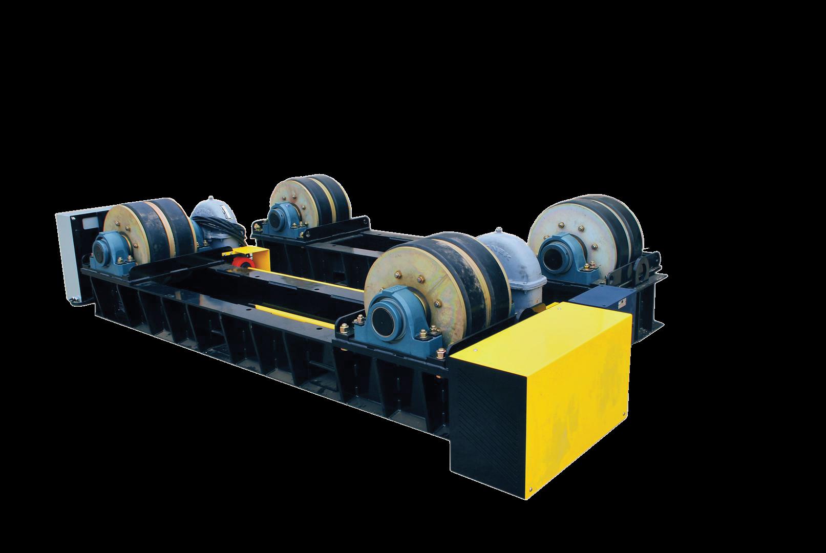 120 ton tank roll vessel rotator
