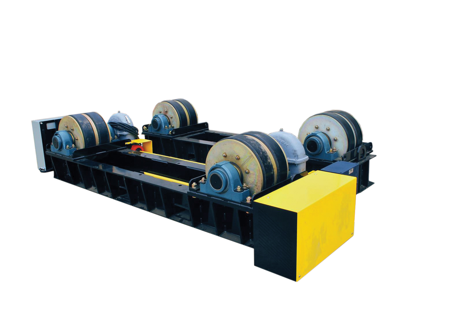 120 ton capacity tank rollers