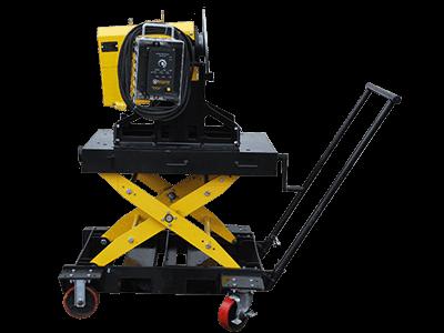 Portable Thru-Bore Welding Positioner