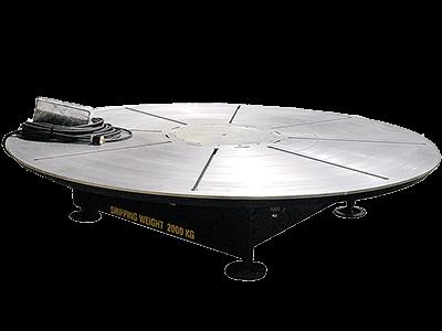 16 ft Diameter x 20-Ton Welder's Turntable