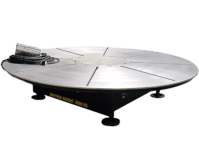 16 ft Diameter x 20-Ton Welding Turntable for sale