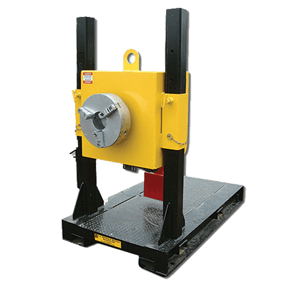 pipe turning positioner with 3000 pounds load capacity