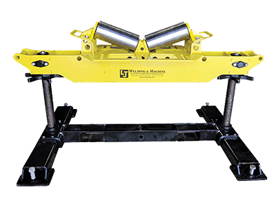 2-Ton Horizontal V-Roller Head Pipe Roller Stands