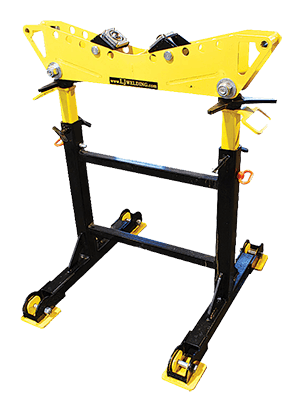 2-TON MULTI-DIRECTIONAL ROLLER HEAD PIPE WELDING STANDS