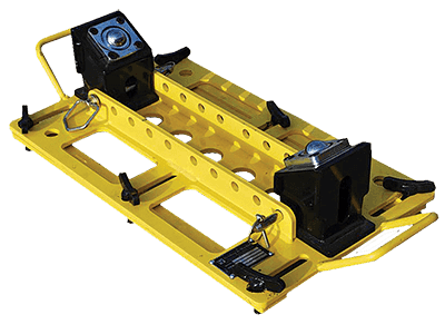 2-ton capacity multi directional pipe rigging rollers for sale