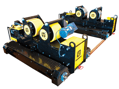20-Ton Used Pipe Alignment Roll Set For Sale