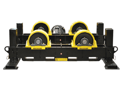 20-ton height adjust vessel rotators