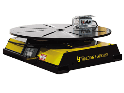low profile high speed welding turntables