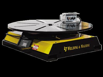 10-Ton Low Profile Welding Turntable