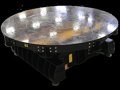 40-Ton Low Profile Welding Turntable