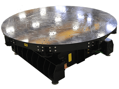 40-Ton Low Profile Welding Turntable