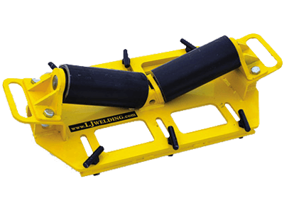 5-Ton horizontal pipe rigging rollers for sale