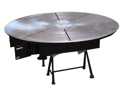 9 ft Diameter x 20-Ton Welding Turntable