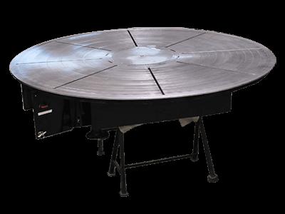 9 ft Diameter x 20-Ton Welding Turntable