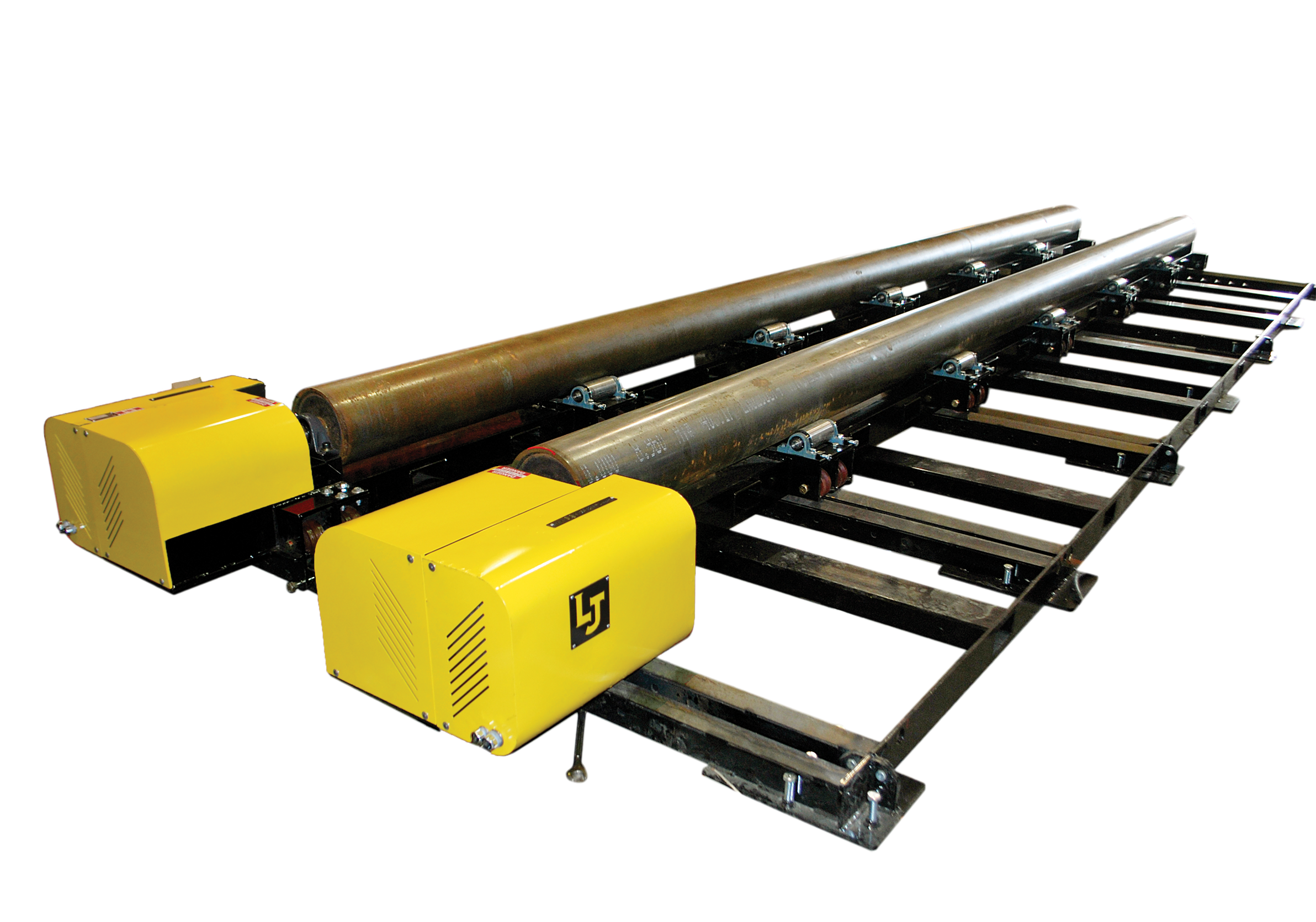 Modular Tank and vessel fit up rolls and tank rotators