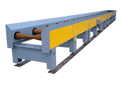 pipe conveyor system for heavy duty applications