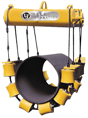 pipe cradle for pipeline construction. 50,000 lb load capacity