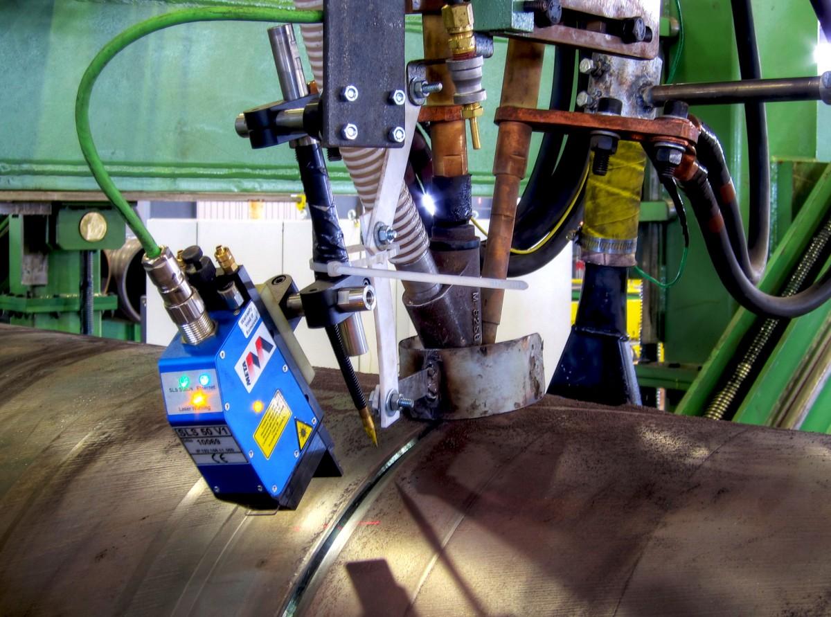 welding manipulator Seam Tracking