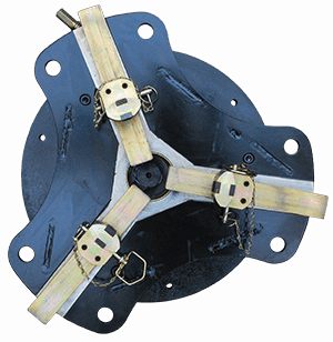 gripper chuck for welding positioners