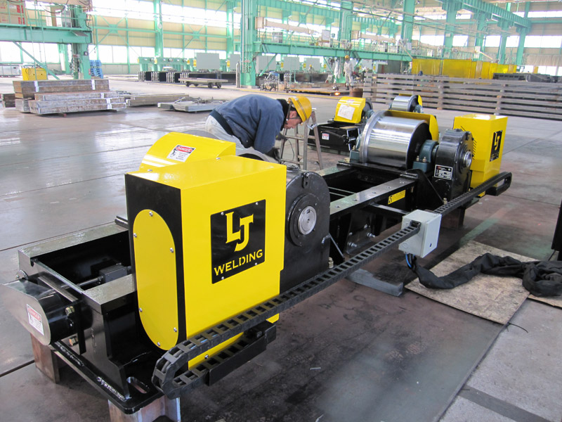 wind tower manufacturing rotators