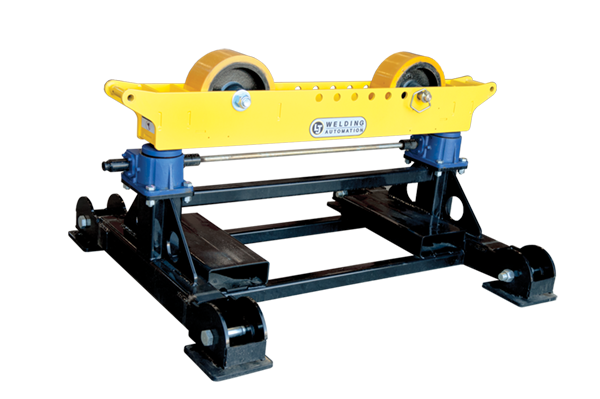 8000 lb Gear Elevated Pipe Roller Stands SHD-850