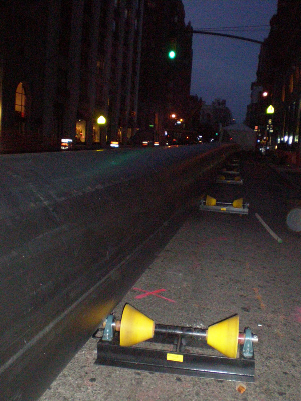 pipeline polyurethane hdd rollers in NYC