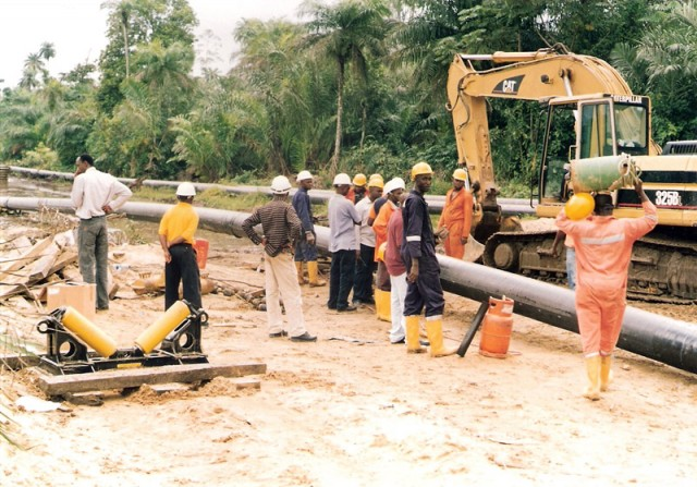pipeline installation nigeria