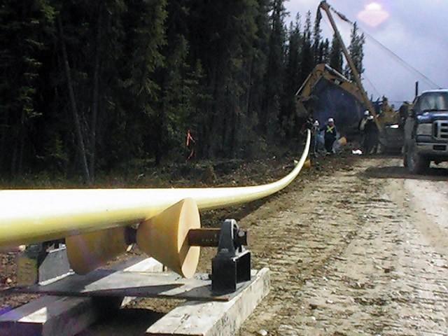 pipeline installation rockies