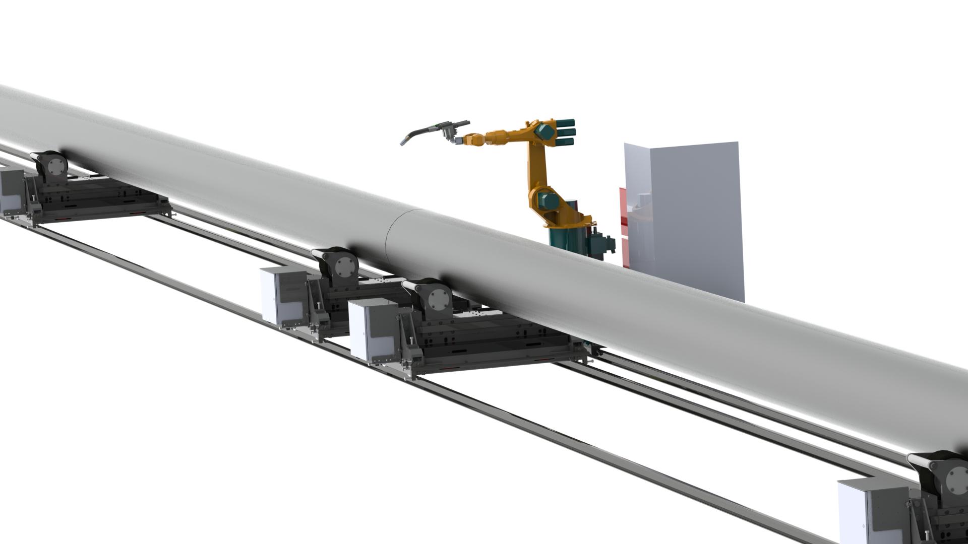 robotic CMT welding system videos