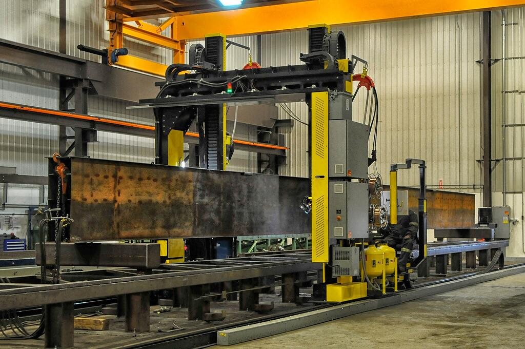 beam welding gantry submerged arc manipulator