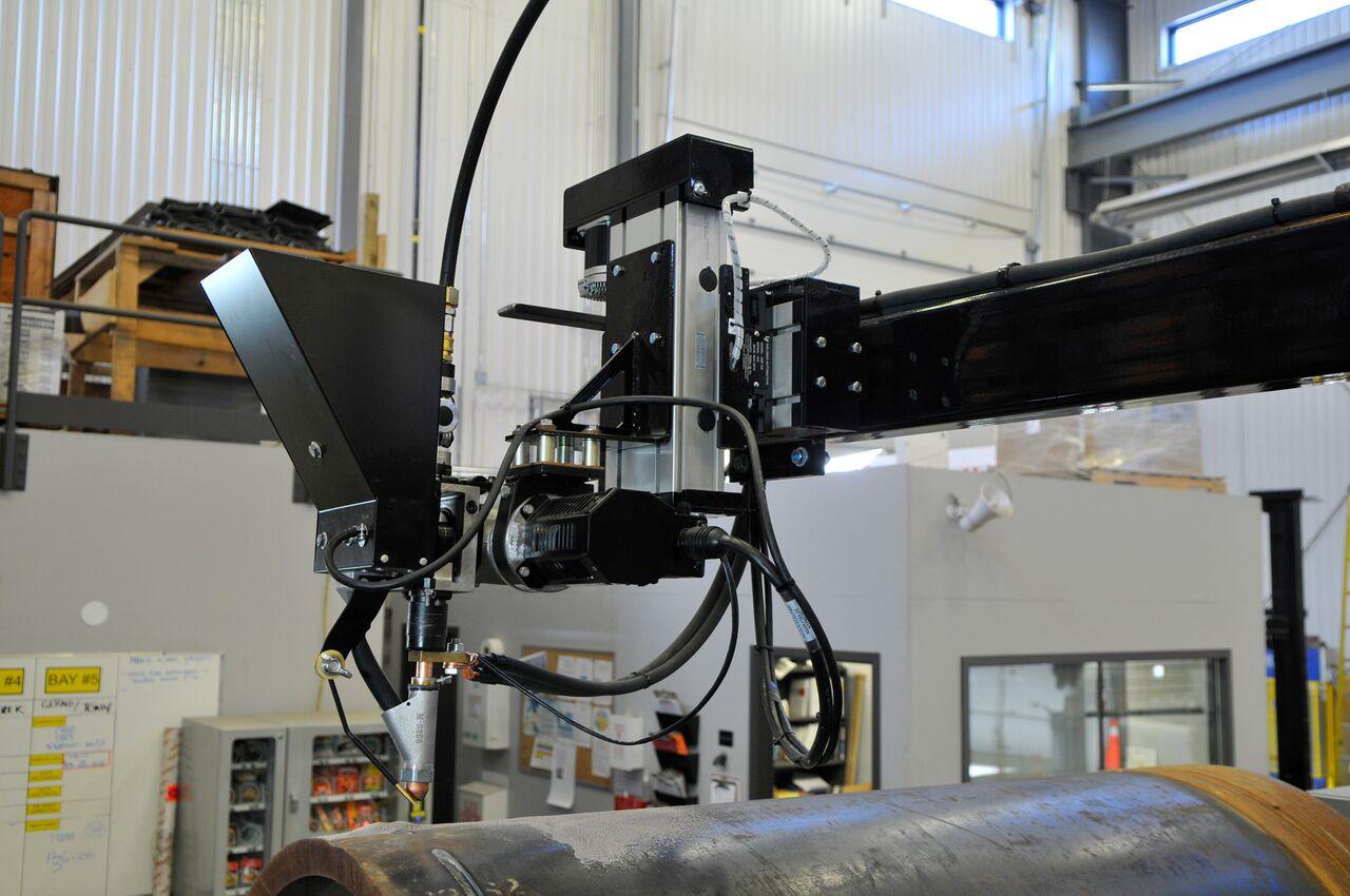 industrial powered cross slides for column & boom.