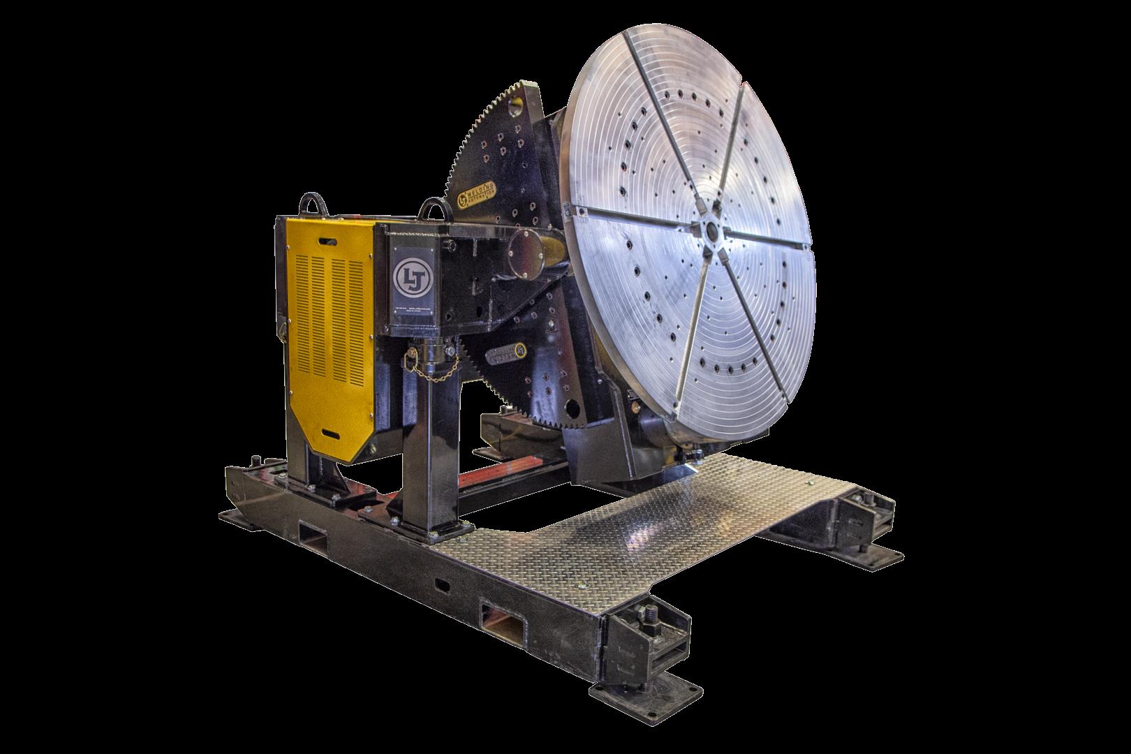 gear tilt welding positioner with 24,000 lbs load capacity