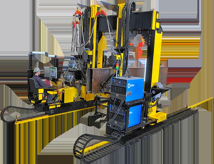 beam welding gantry system video explainer