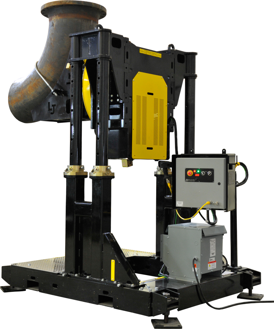 24,000 lbs offset pipe turning positioner