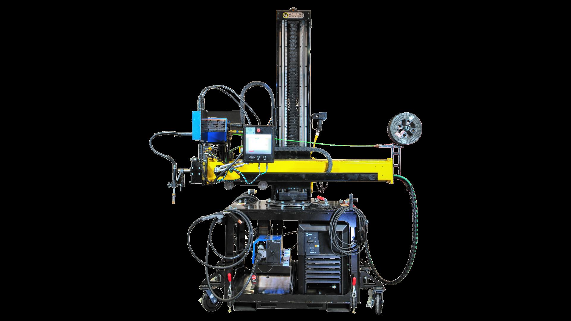 portable welding manipulator 4' x 4'