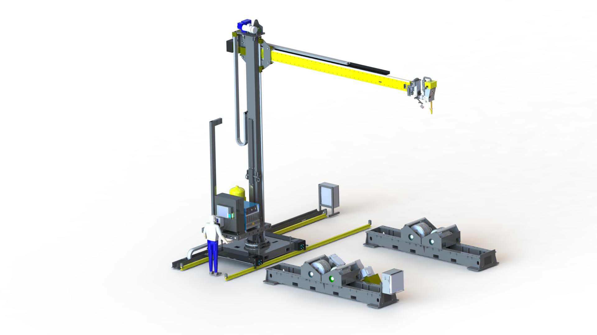 sumarc welding manipulator systems