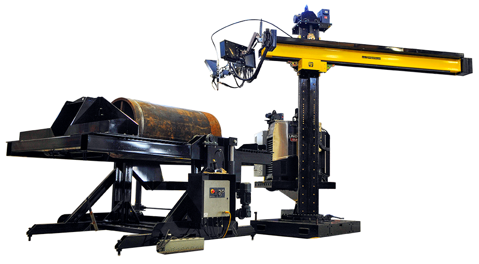 cladding overlay welding positioning system