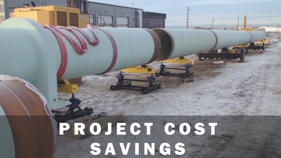 cost savings associated with vessel rotators