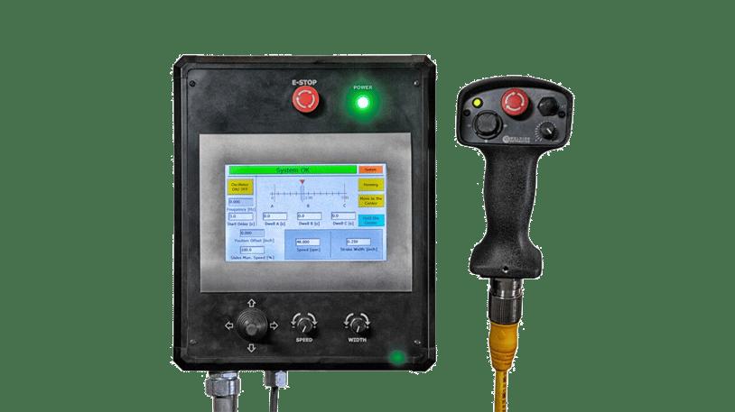 weld weaver oscillator system controls