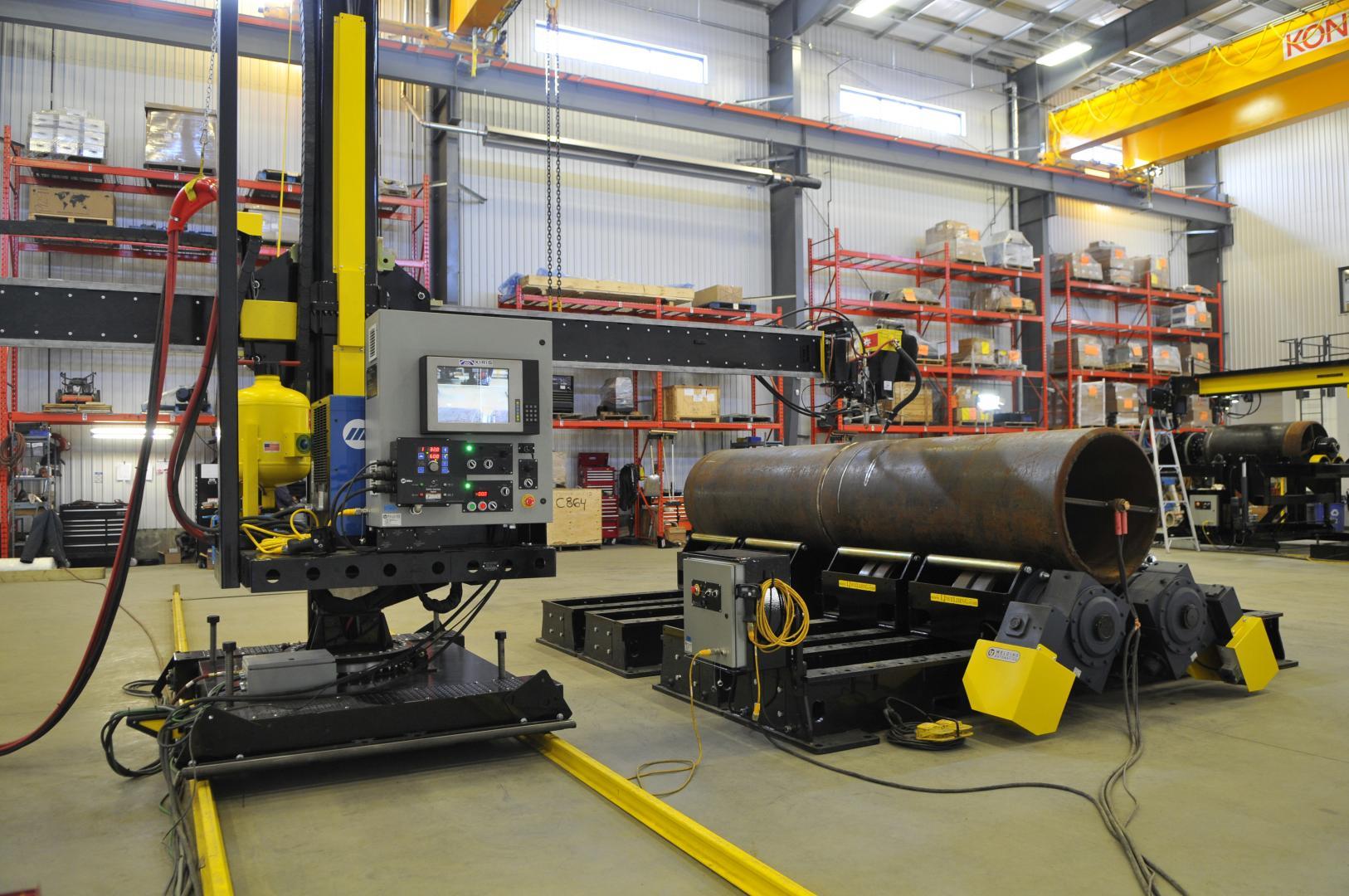gear tilt pipe welding positioner for sale or rent