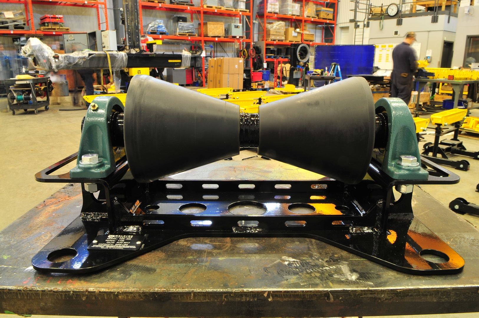 1-ton pipeline rollers for rent or sale