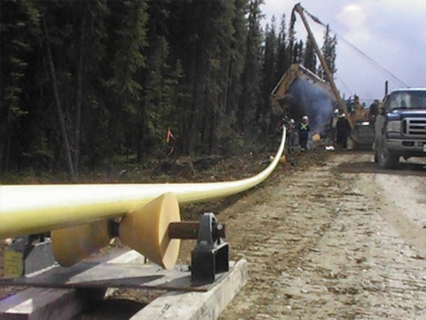 1-ton pipeline rollers for directional drilling