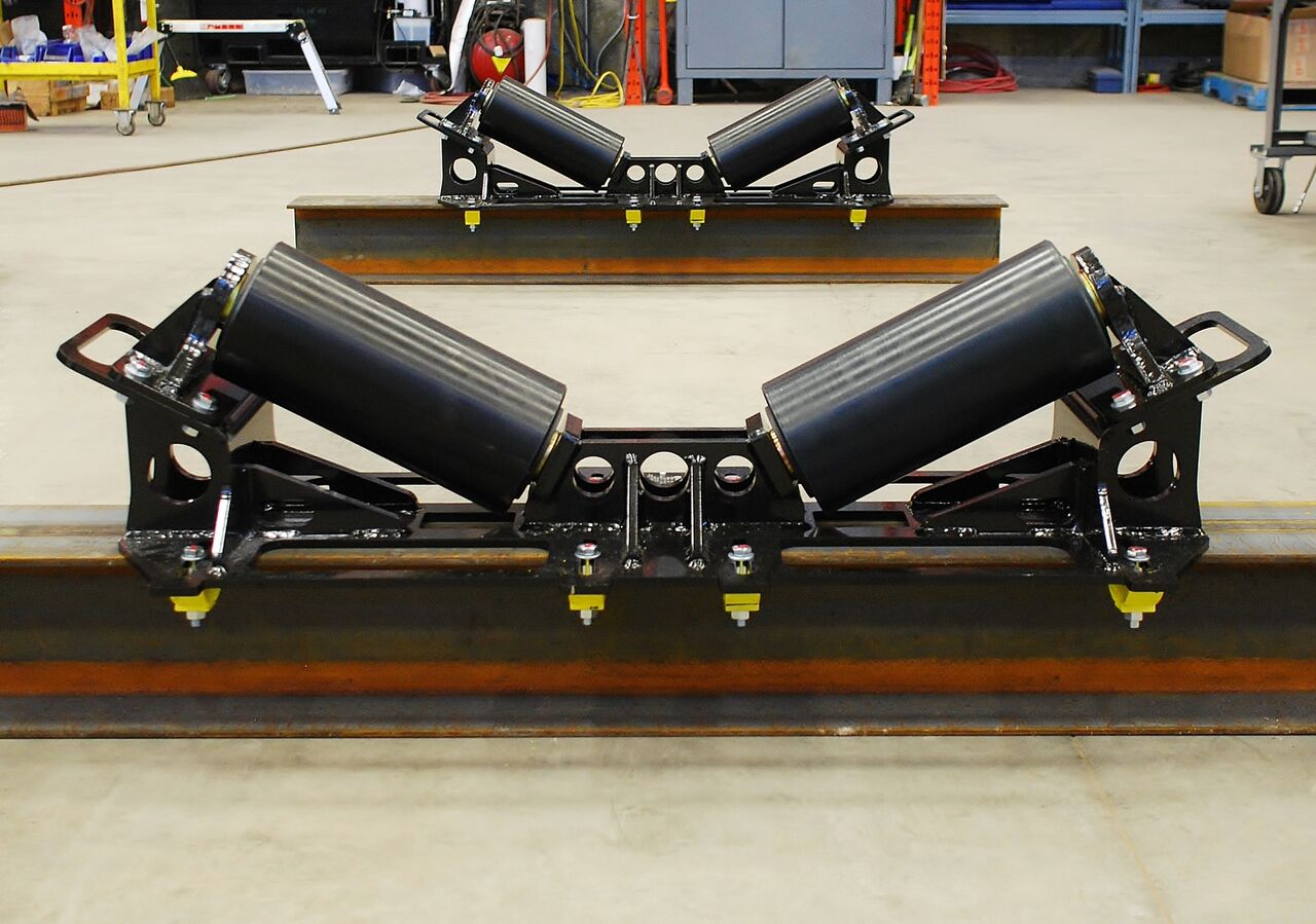 10-ton pipe rigging rollers