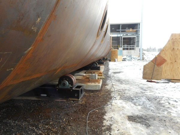 fixed height vessel rotators